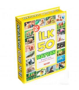 İlk 50 Hayvan Flash Kartları Diytoy