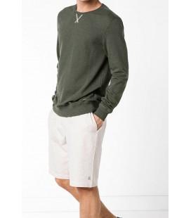 Defacto Erkek Gri Basic Armalı Sweatshirt F0999AZ