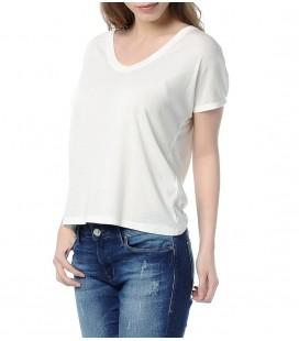 Mavi Jeans V Yaka 165499-20814 Basic Kadın V Yaka Penye Antik