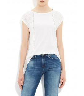 Mavi Jeans 165700-20814 Kadın Kolsuz Penye Tişört