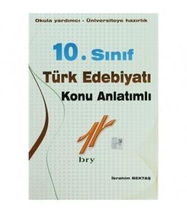 10. Sınıf Türk Edebiyatı Konu Anlatımlı - Birey Yayınları