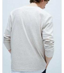 Zara Erkek Sweatsihirt - 2344/400/075 Bej Renk