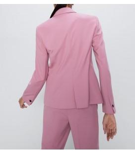 Zara Kadın Blazer Pembe Ceket 2163/553/620