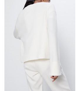 Zara Beyaz Kadın Kazak 0264/005/712