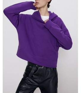 Zara Kadın Kapüşonlu Sweatshirt 1058/927/611