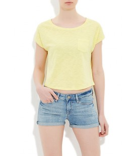 Mavi Kadın Tişört Sarı 165695-21072