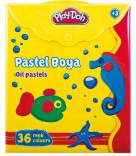 Play-Doh 36 Renk Pastel Boya / Çantalı PLAY-PA008