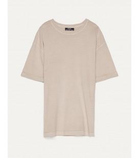Bershka Kadın Kısa Kollu Oversize T-shirt 1926/443/742