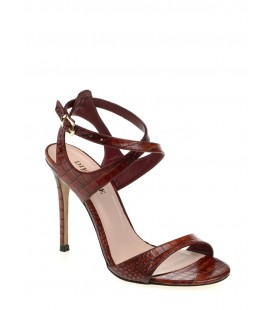 Divarese Kadın Topuklu Ayakkabı Bordo 5015194005