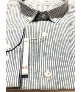 U.S. Polo Erkek Gömlek G081SZ004.000.849503 Açık Mavi Gömlek