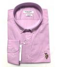 U.S. Polo Erkek Gömlek G081SZ004.000.849503 Lila Gömlek
