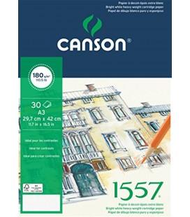 Canson Colorline Çizim Blok 1557 A3 180 Gr