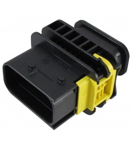 TE CONNECTIVITY 1-1564516-1 Automotive Connector Housing, HDSCS Series, Plug, 10 Ways