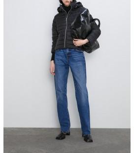 Zara Kadın Siyah Hafif Şişme Mont 5071/223