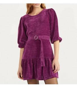 Bershka Balon Kollu Fırfırlı Kadın Elbise 0382/405/629