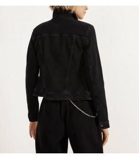 Bershka Kadın Siyah Denim Ceket 1218/335/800