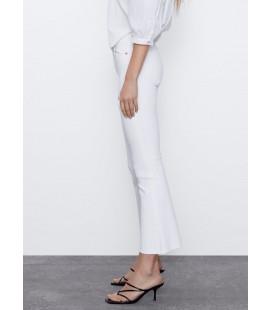 Zara Kısa İspanyol Paça Orta Bel Kadın Pantolon 3643/014/250