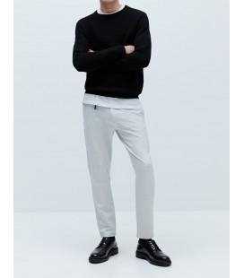 Zara Erkek Slim Fit Karma İplikli Kumaş Pantolon 0706/305
