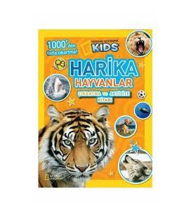 National Geographic Kids Harika Hayvanlar Çıkartma Ve Aktivite Kitabı