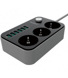 Tsmart 6 Usb Çıkışlı Uzatma Kablolu Priz Ts-P99 Akım Korumalı