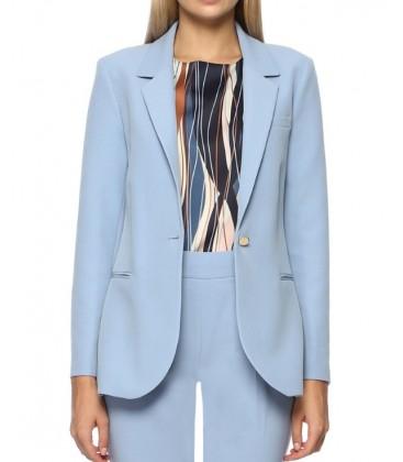 Network Regular Fit Kadın Mavi Ceket 1070711-078