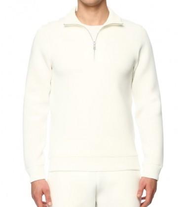 Network Slim Fit Ekru Erkek Sweatshirt 1071448-170