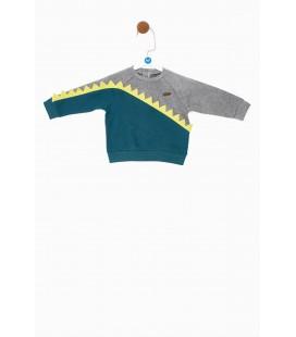 BG Baby Erkek Bebek Yeşil S-Shirt 19FW1BG1430