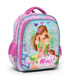 Winx Club Pembe ilkokul Sırt Kız Çocuk Okul Çantası Flora 63265
