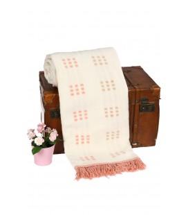 Özdilek Battaniye Pamuklu Pembe 130x170