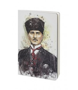 Mabbels Atölye Atatürk Çizgili Defter