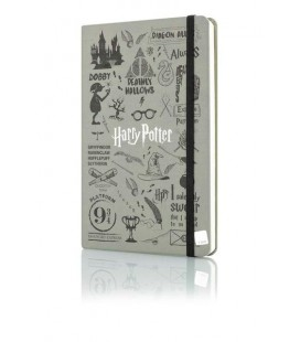 Mabbels Defter Lastikli Harry Potter 21x13 cm.
