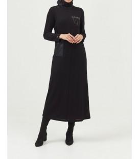 Setrms Siyah Kadın Elbise 20K5041
