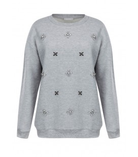 TWİST Sweatshirt TW6160070069 Penye