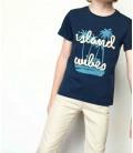 Nebbati Erkek Çocuk Lacivert T-Shirt 19SS0NB3501