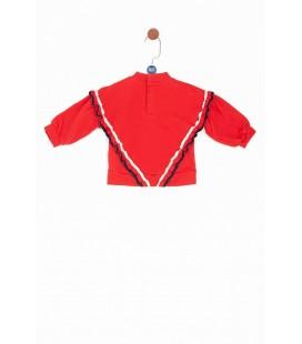 GB Baby Kız Bebek Kırmızı S-Shirt 19PFWBG2411KIR