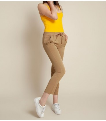 Fashion Friends Kadın Camel Pantolon 9Y0955B1