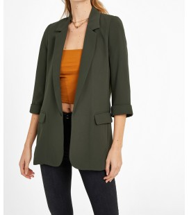 Oxxo Kadın Yeşil Blazer Ceket OX-POLYAKCEK
