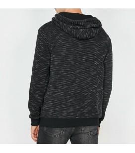 Koton Erkek Kapüşonlu Sweatshirt Antrasit 0KAM71093LK045