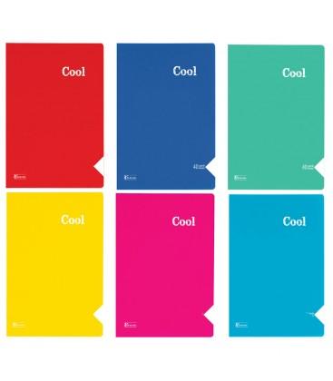 Keskin Color Cool PP Kapak Dikişli Kareli Defter A4 60 Yaprak 321842-99