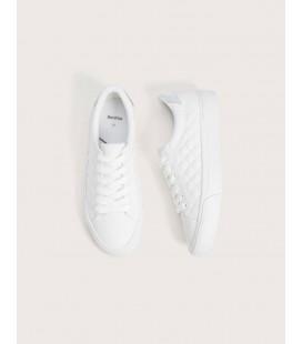 Bershka Kadın Beyaz Kapitone Ayakkabı 1402/560/001