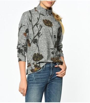 Mavi Kadın Baskılı Sweatshirt 166458-24386