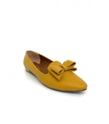 Polite Ellen Kadın Hardal Ayakkabı