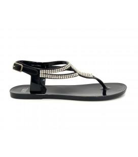 Ayakkabı Dünyası Twigy Kadın Siyah Taşlı Sandalet 1092D0810