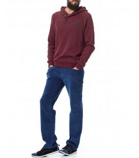 Mavi Erkek Yakası Düğmeli Sweatshirt 062376-15745