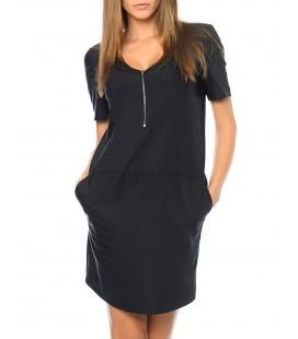 Mavi Kadın Elbise 130238-900 Fermuar Detaylı Elbise Siyah