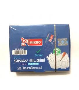 Mikro Sınav Soft Silgisi İz Bırakma 2B-30 Pvc Free