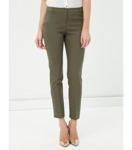Koton Kadın Skinny Pantolon Haki 7KAK43853EW889