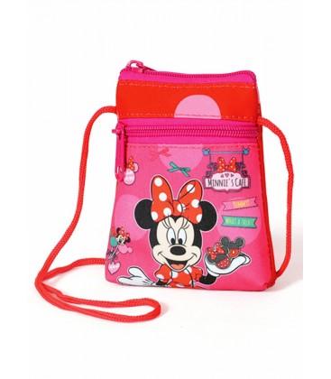 Minnie Mouse Lisanslı İpli El Ve Omuz Çantası / 72550