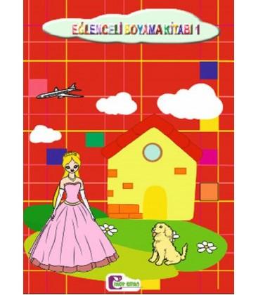 Eğlenceli Boyama Kitabı 1 - Mor Elma Yayıncılık