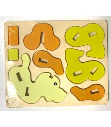 3D Köpek Puzzle Ahşap Mwz-1010